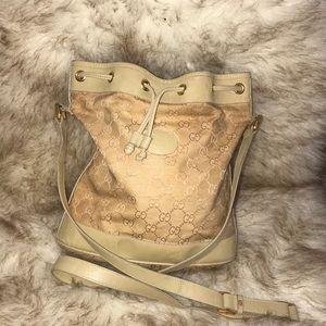 Vintage  Gucci bucket tote